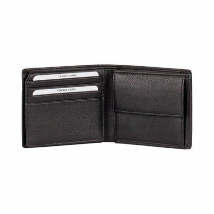 Burkely portemonnees Heren portemonnee zwart Burkely 107088.10