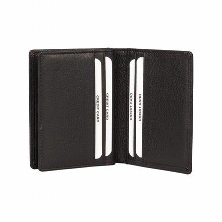 Burkely portemonnees Heren portemonnee zwart Burkely 107888.10