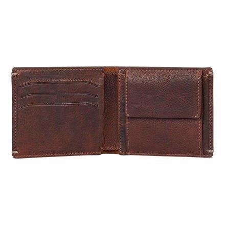 Burkely portemonnees Heren portemonnee bruin Burkely 133056.20
