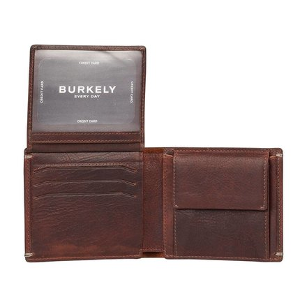 Burkely portemonnees Heren portemonnee bruin Burkely 133256.20