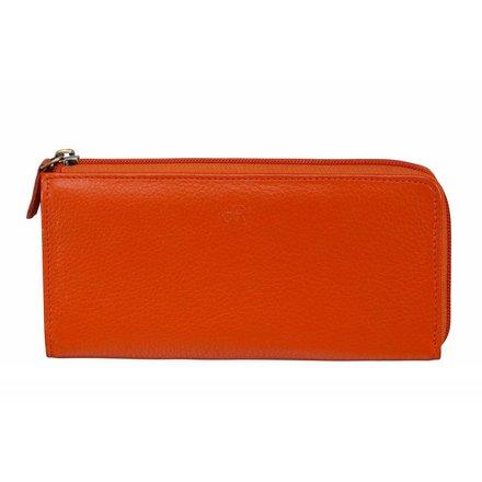 HJ de Rooy Dames portemonnee oranje HJ de Rooy 110183 O