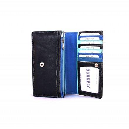 Burkely portemonnees Dames portemonnee blauw Burkely 102061.30