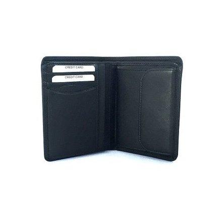 Burkely portemonnees RESTANTVOORRAAD: Heren hoge portemonnee zwart Burkely 5800