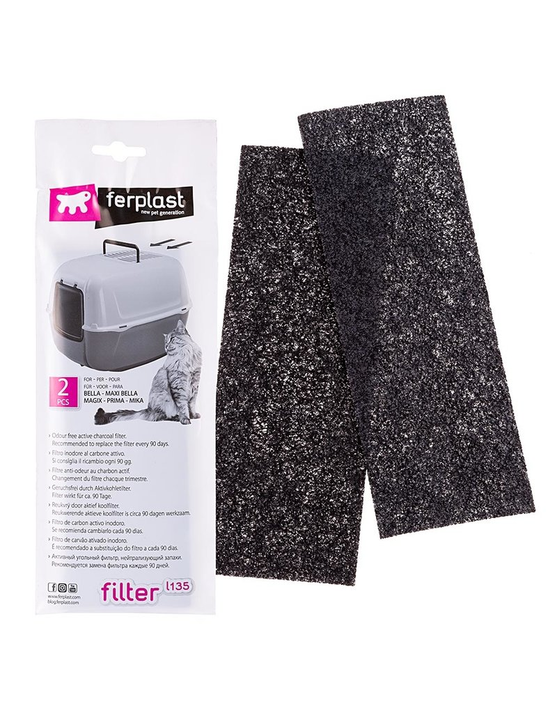 Ferplast L135 ACTIVE CARBON FILTERS