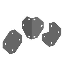 Ferplast KIT FLAT AND CORN.BENDED PLATE