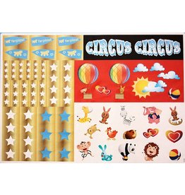 Ferplast STICKERVEL CIRCUS FUN