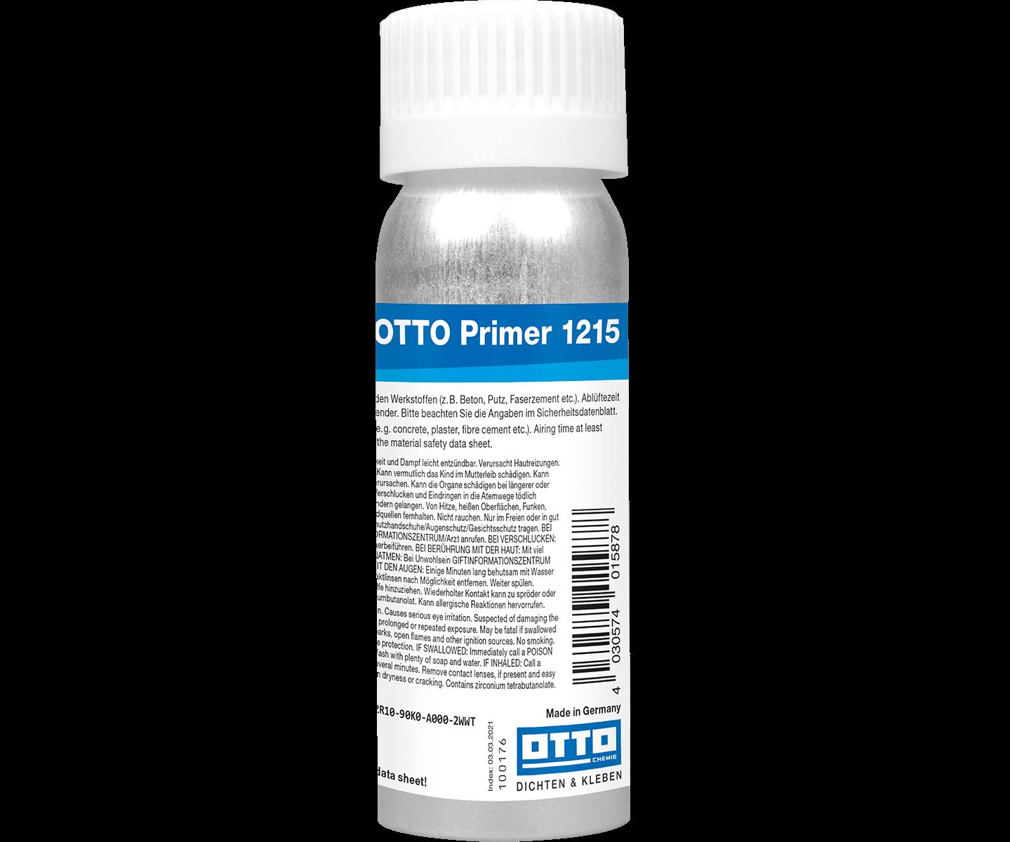 Ottoseal Otto Primer 1215 siliconen-grondering voor absorberende ondergronden