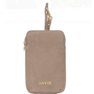 ANY DI Pouch Greige Nubuck