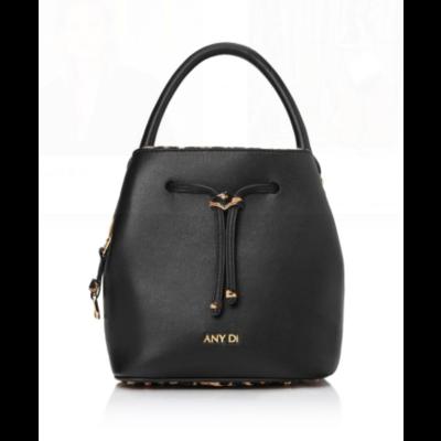 Bucket Bag Mini Black Leo