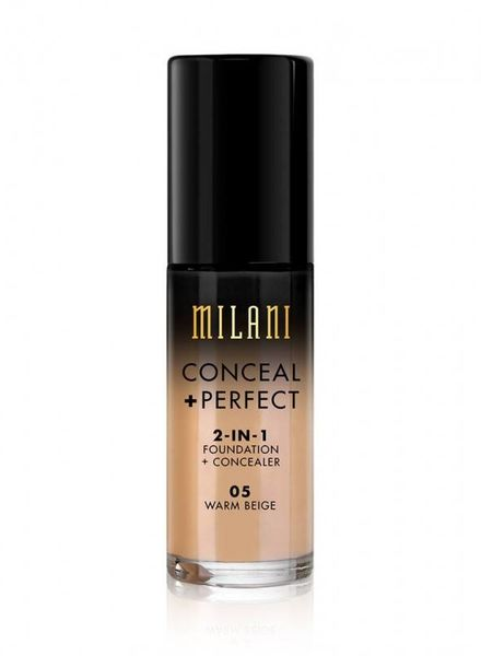 Milani Cosmetics Milani Perfect 2-in-1 Foundation+Concealer