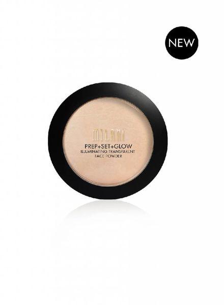 Milani Cosmetics Milani Prep + Set + Glow Illuminating Powder Transparent