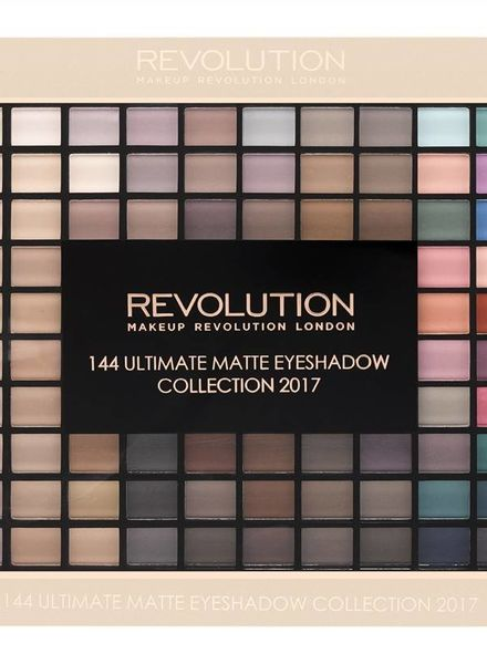 Makeup Revolution Gift Set - Matte 144 Eyeshadow Palette