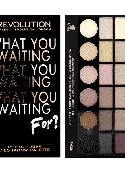 Makeup Revolution Makeup Revolution Lidschatten Palette What Have You Been Waiting For?