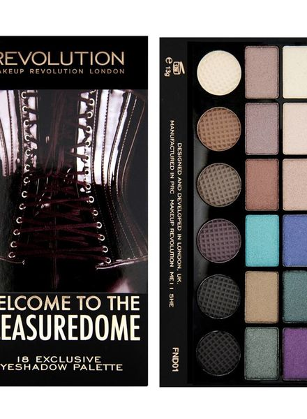 Makeup Revolution Makeup Revolution Lidschatten Palette Welcome to the Pleasuredome