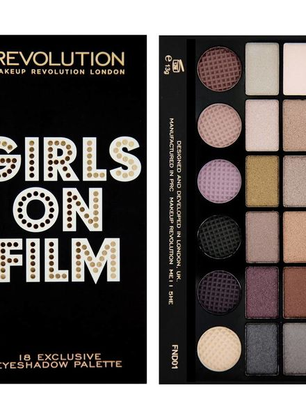 Makeup Revolution Makeup Revolution Lidschatten Palette Girls on Film