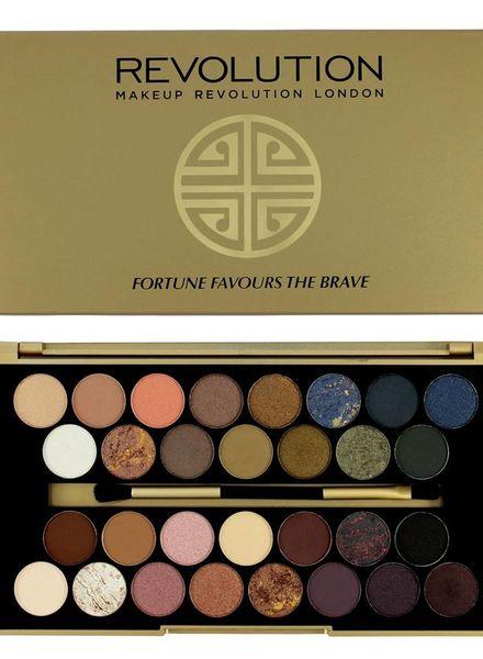 Makeup Revolution Makeup Revolution Limitierte Lidschatten Palette Fortune favours the brave