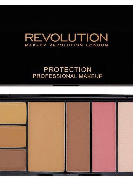 Makeup Revolution Makeup Revolution Protection Palette Medium/Dark