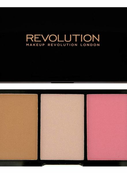 Makeup Revolution Makeup Revolution Iconic Rouge, Bronzer & Highlighter Smoulder