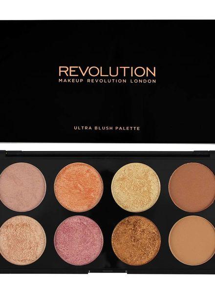 Makeup Revolution Makeup Revolution Ultra Palette Golden Sugar 2 - Blush, Bronze & Highlight
