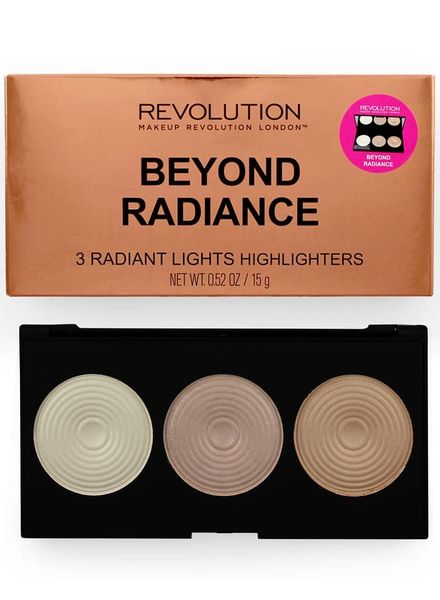 Makeup Revolution Makeup Revolution Highlighter Palette - Beyond Radiance