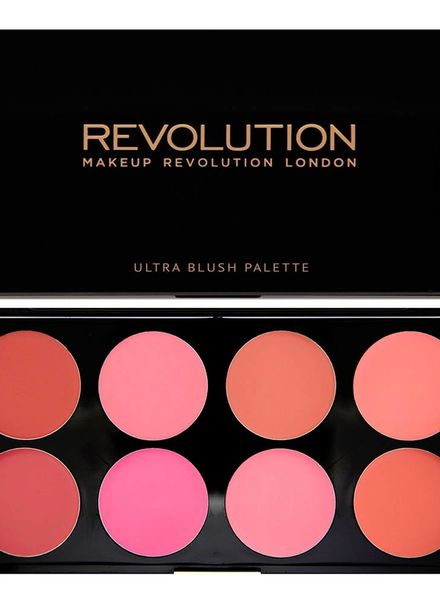 Makeup Revolution Makeup Revolution Blush Palette - All About Cream