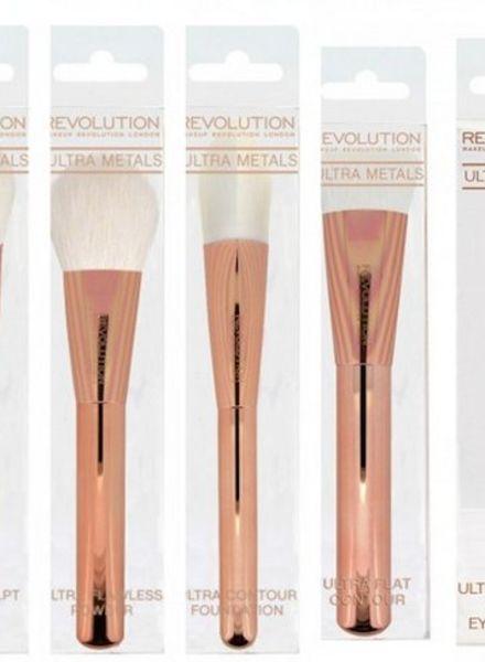Makeup Revolution Makeup Revolution Ultra Revolution Brushes Full Collection Set