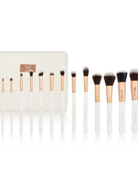 Boozy Cosmetics Boozy Cosmetics Rose Gold 14er Brush Starter Set