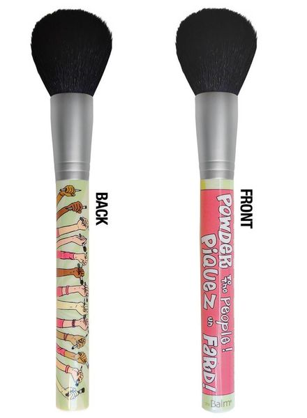 TheBalm TheBalm Powder to the People® Powder/Blush Brush