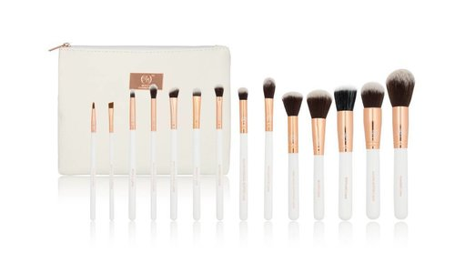 Boozy Brush Set Gold