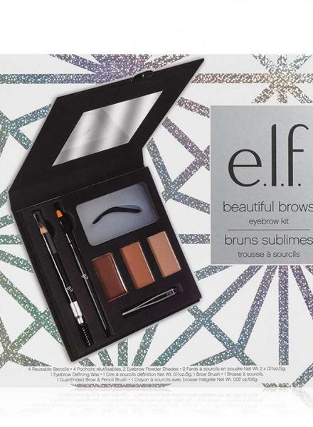 e.l.f. eyeslipsface eleven eyebrows Set 7 pieces