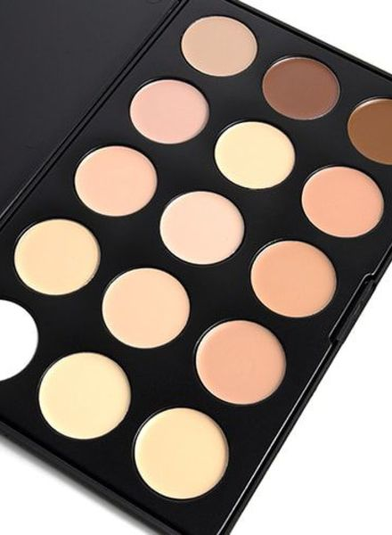 OPV beauty OPV Beauty 15 Color Concealer Palette Cream Base