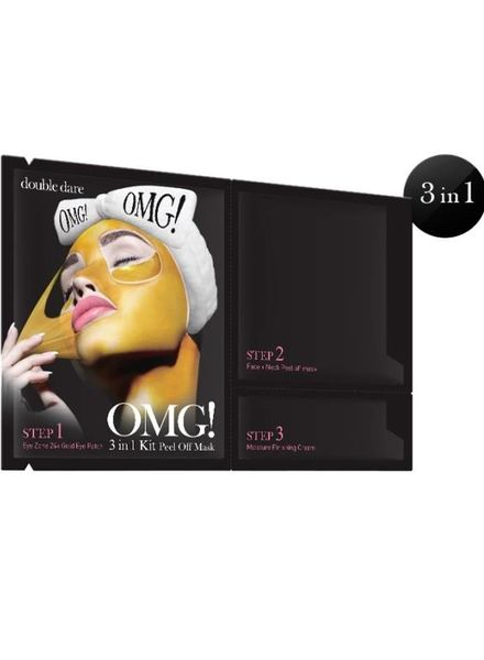 double dare OMG! 3 in 1 Kit Peel Off Maske Einzelpackung