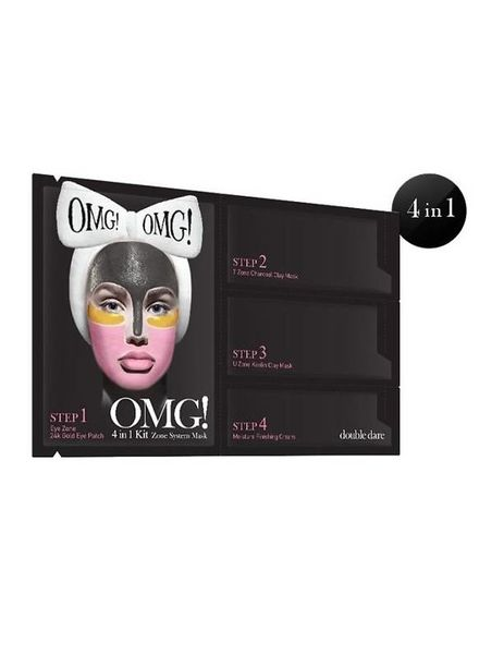double dare OMG! 4 in 1 Kit Zone System Maske Einzelpackung