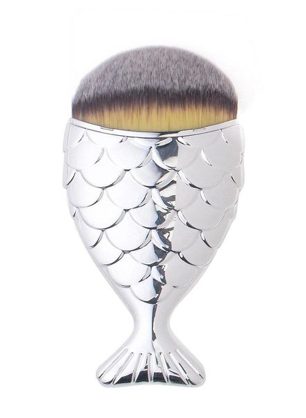 Mermaid Salon Mermaid Salon - Original Chubby Mermaid Brush - Silver