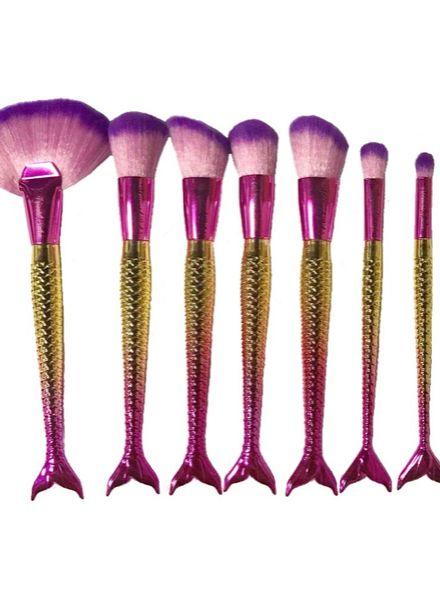 Mermaid Salon - *SPECIAL* Longline - 7 piece brush set