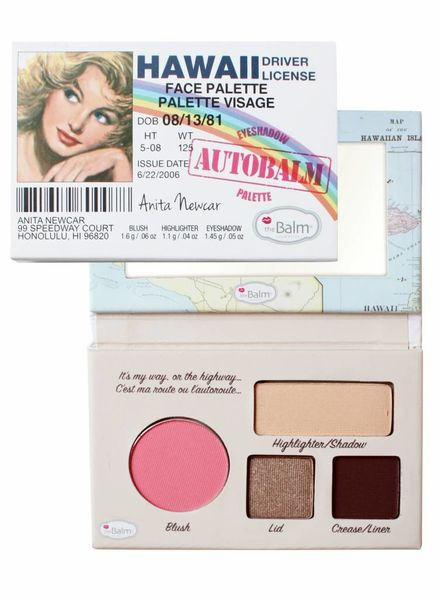 TheBalm TheBalm Autobalm Hawaii Face Palette