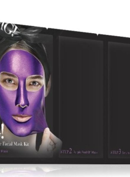 double dare OMG! Platinum Purple Gesichtsmasken Kit