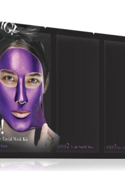 double dare OMG! Platinum Purple kit de masques pour le visage