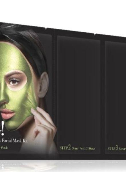 double dare OMG! Platinum Green kit de masques pour le visage