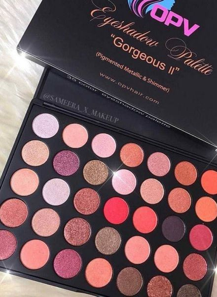 OPV beauty OPV Beauty Eyeshadow Palette Gorgeous II