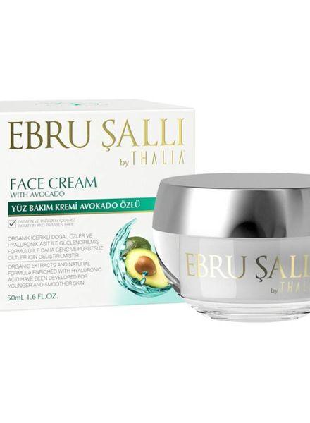 Thalia Beauty EBRU Şalli - Crème pour le visage à l'huile d'avocat 50 ml