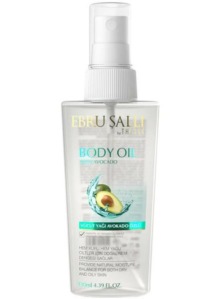 Thalia Beauty EBRU Şalli care body oil with avocado oil 130 ml