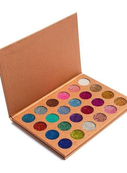 Aria Cosmetics Aria Cosmetics - Golden Lights Glitter Palette