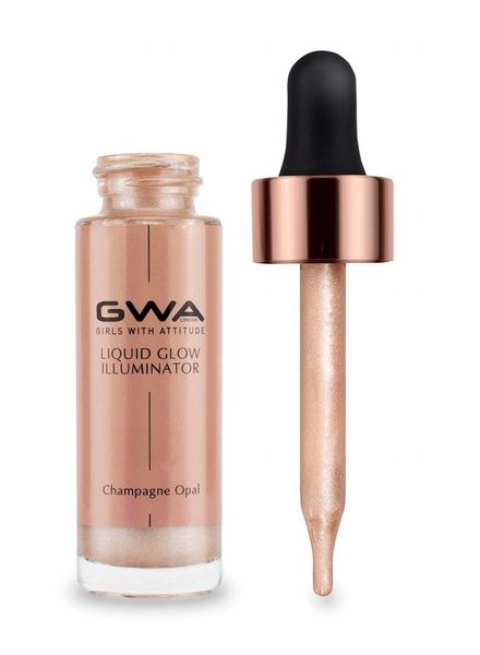 GWA Cosmetics GWA Liquid Glow Illuminator - Champagne Opal