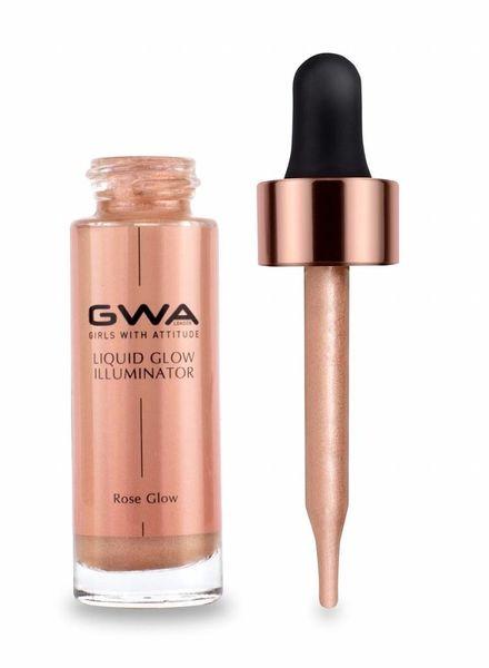GWA Cosmetics GWA Liquid Glow Illuminator - Rose Glow