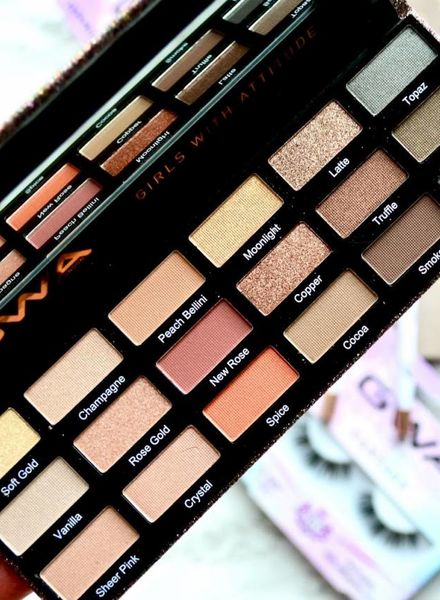 GWA Cosmetics GWA Ultimate Goddess Eyeshadow Palette