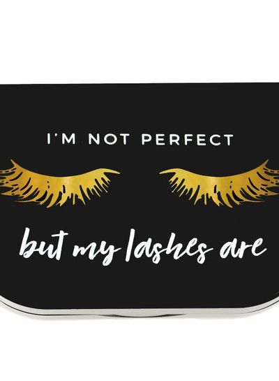 "Lilly Lashes Lilly Lashes ""I'm not perfect' lash case"