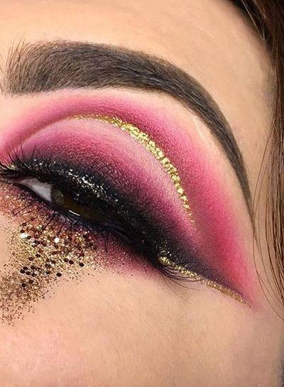L.A. Splash  LA Splash Crystalized Glitter - Gold Rush