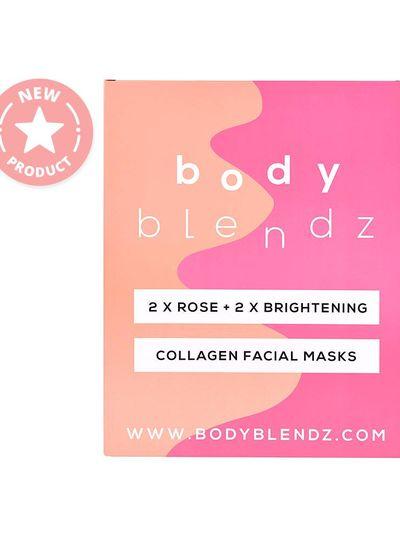 Bodyblendz Bodyblendz Collagen Facial Masks