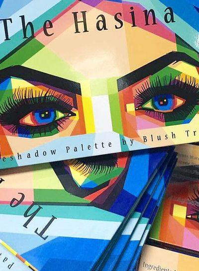 Blushtribe Blushtribe The Hasina eyeshadow palette